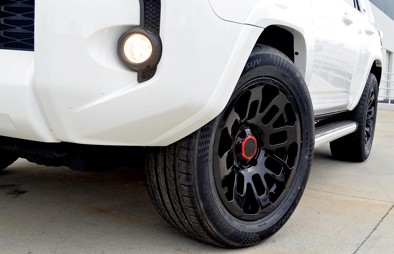 White Toyota 4Runner 2