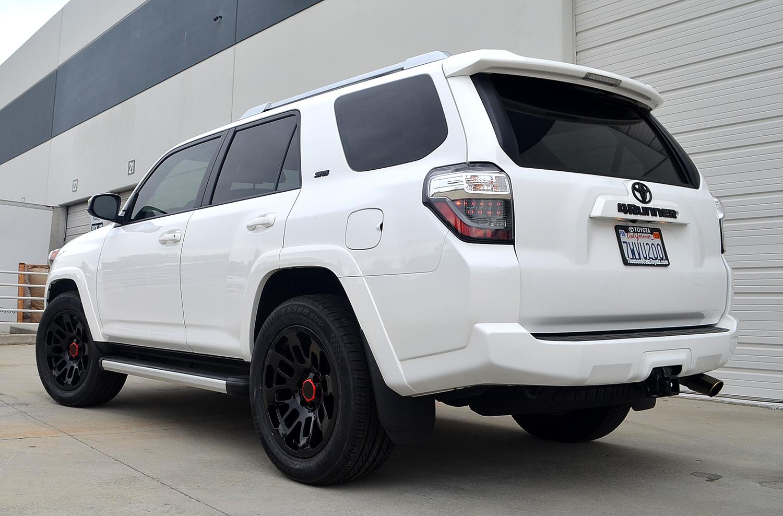 White Toyota 4Runner 3