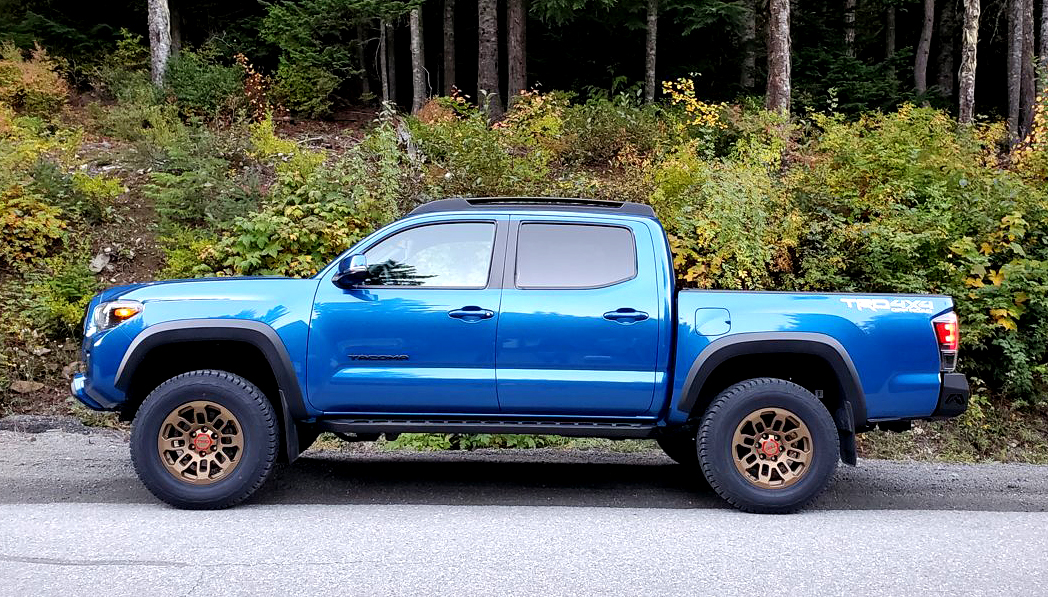 Factory Style Wheels Pro Style - F089 Wheels - Blue Toyota Tacoma